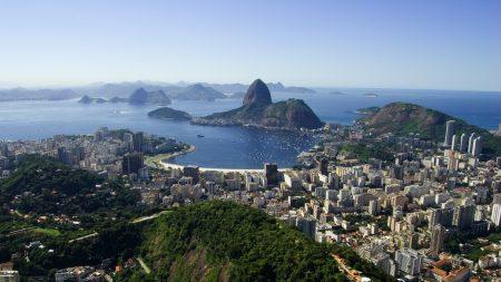 brazil, rio de janeiro, view from the top
