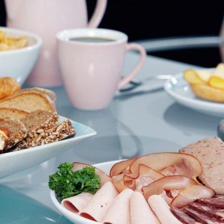 breakfast, table, snack