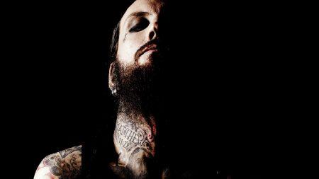 brian welch, tattoo, neck