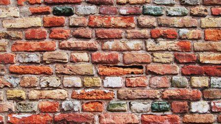 bricks, background, wall