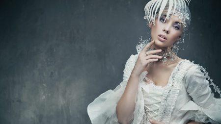 bride, vintage, fashion