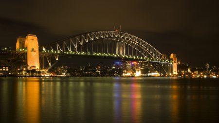 bridge, harbour bridge, sydney
