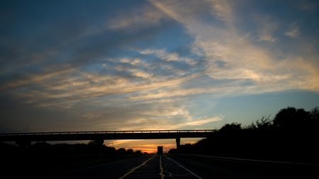 bridge, road, route