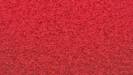 bright, red, carpet