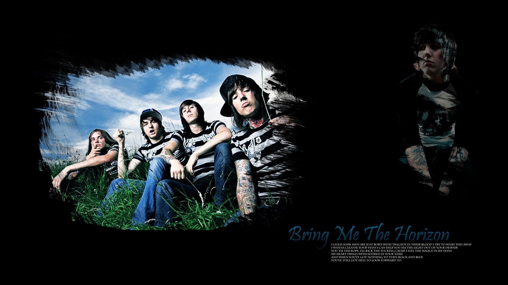 Download Wallpaper 1920x1080 Bring Me The Horizon Band Members
