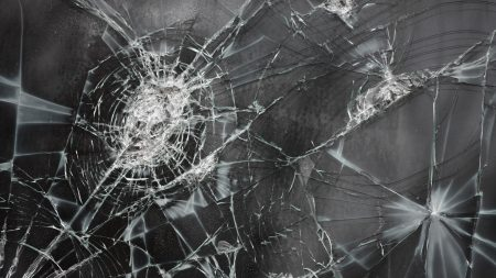 broken glass, cracks, texture