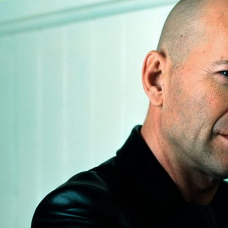 bruce willis, bald head, man