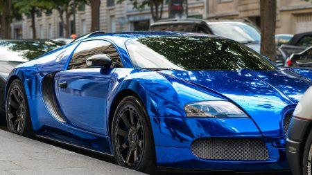 bugatti, style, blue
