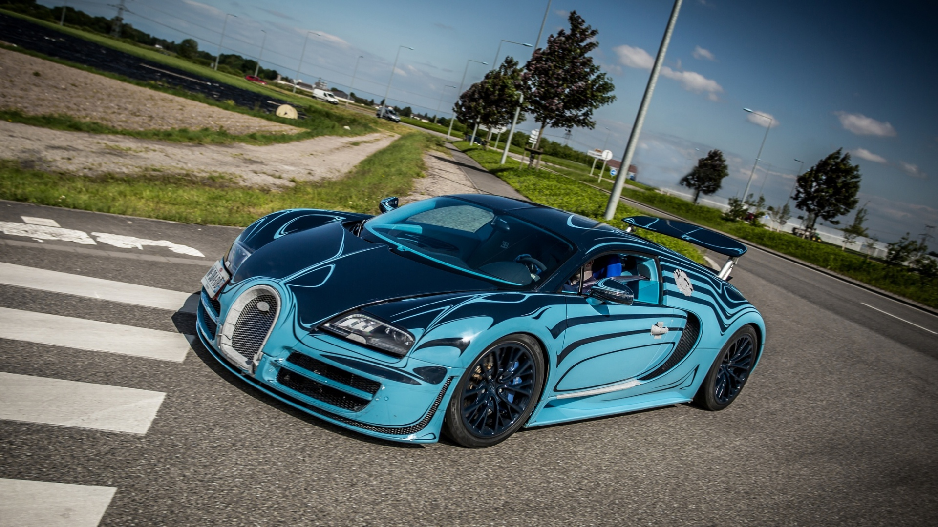 Bugatti Veyron Super Sport Full Hd Wallpaper: Download Wallpaper 1920x1080 Bugatti, Veyron, Super, Sport
