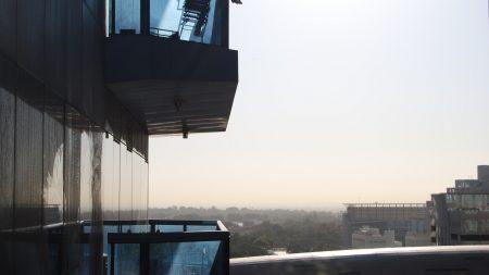 building, balcony, sky