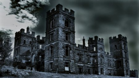 building, castle, old