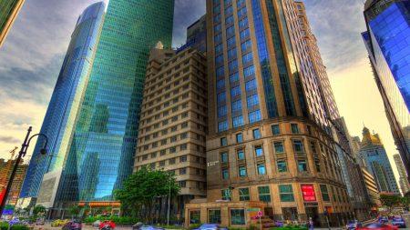 buildings, city, metropolis