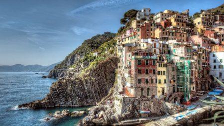 buildings, landscape, riomaggiore