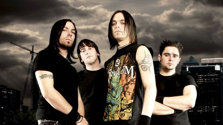 bullet for my valentine, tattoo, clouds