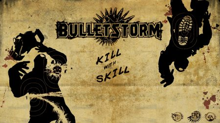 bulletstorm, name, font