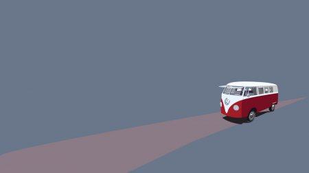 bus, road, trip