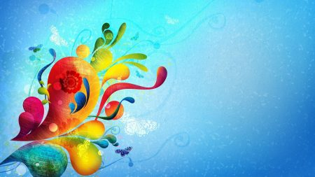 butterflies, happiness, splash