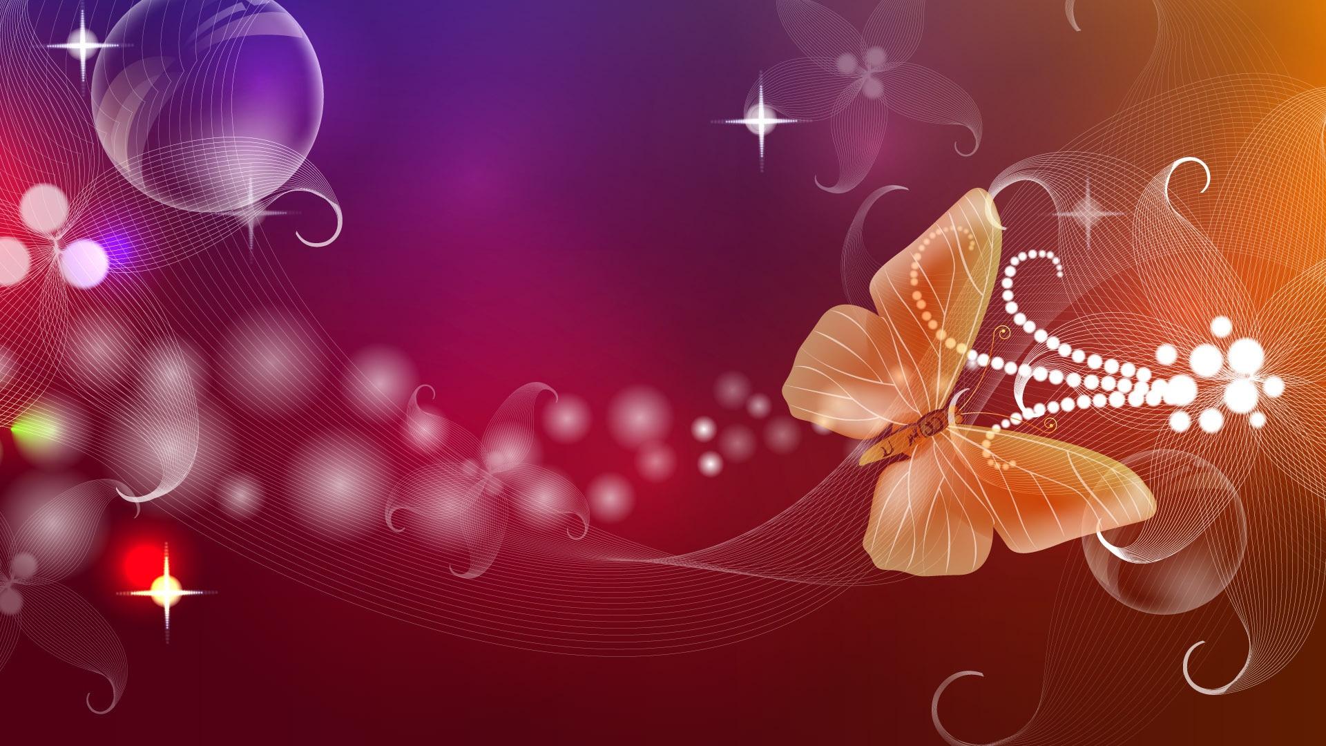 butterfly, flight, patterns