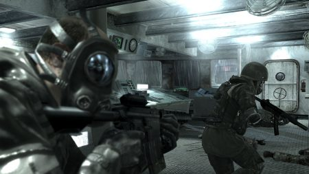 call of duty 4 modern warfare, soldiers, automatic