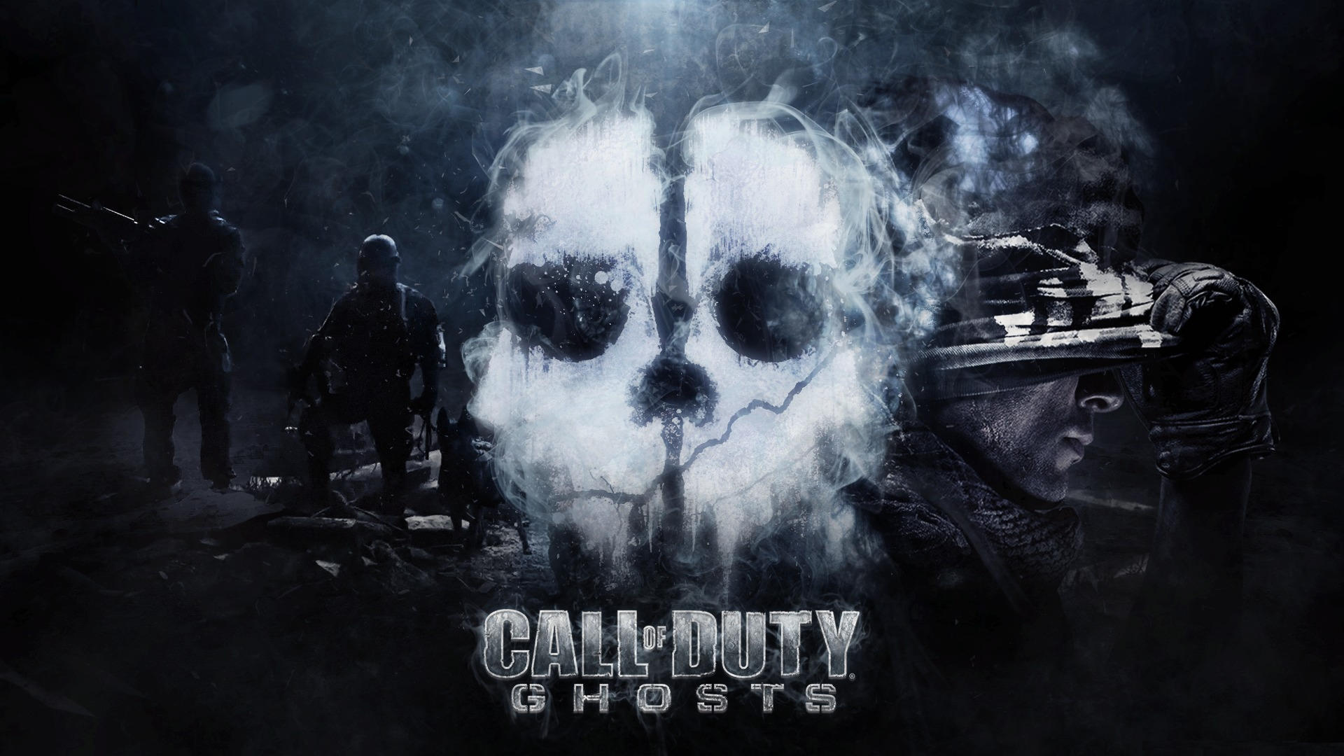 call of duty mw ghost wallpaper 4k