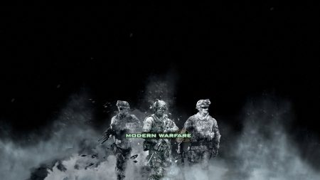 call of duty modern warfare 2, soldiers, smoke
