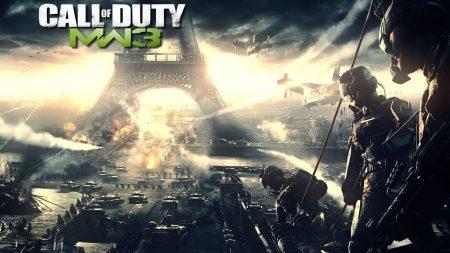 call of duty modern warfare 3, france, eiffel tower