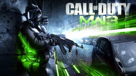 call of duty modern warfare 3, soldier, car