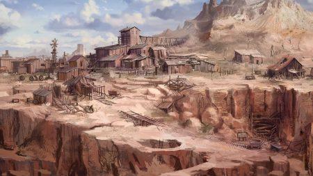 call of juarez, goldmine, fan art