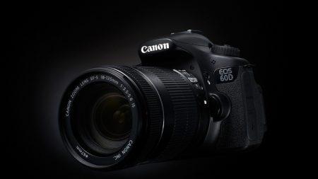 camera, 60d, black background