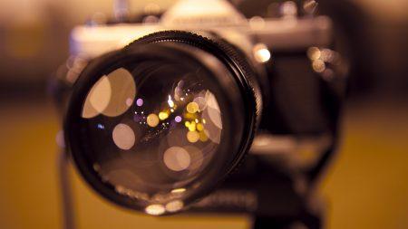 camera, lens, glare