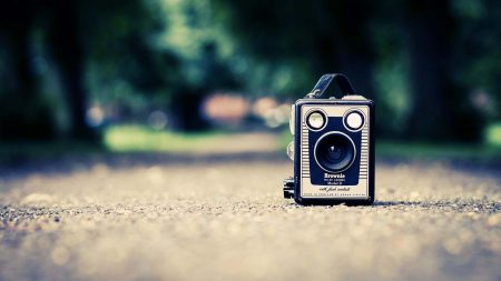 camera, old, style
