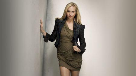 candice accola, blonde, dress
