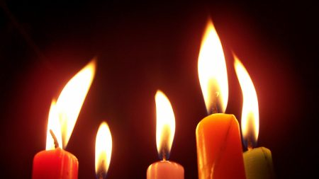 candle, fire, flame