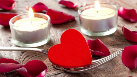 candle, heart, male