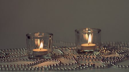 candles, candle holders, lights