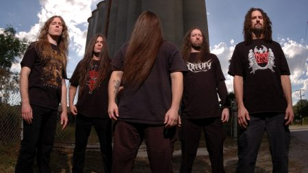 cannibal corpse, hairs, rockers