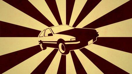 car, line, rotation