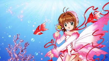 card captor sakura, girl, brunette