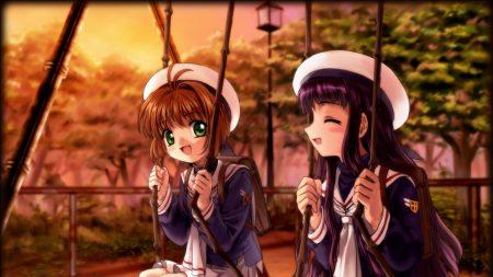 card captor sakura, girl, sweet