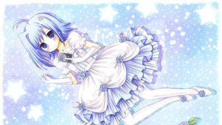 cardfight vanguard, girl, dress