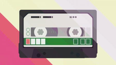 cassettes, graphics, picture