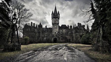 castle, old, sky