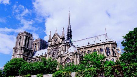 castle, sky, architecture