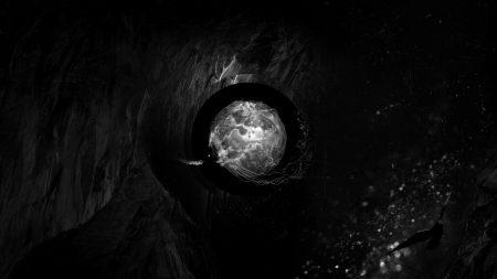 cave, bird, ball