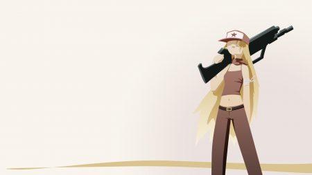 cave story, girl, gun