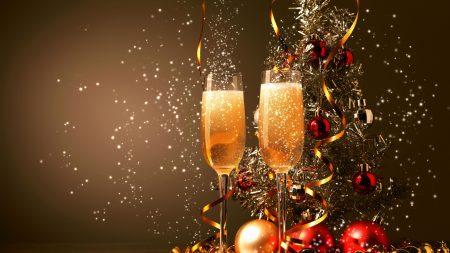 champagne, glasses, tape