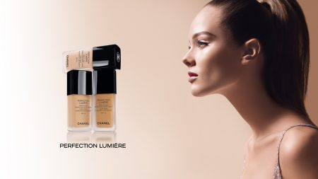 chanel, girl, foundation