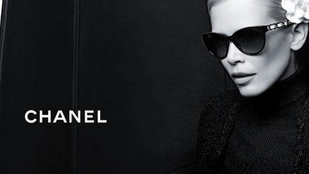 chanel, girl, glasses