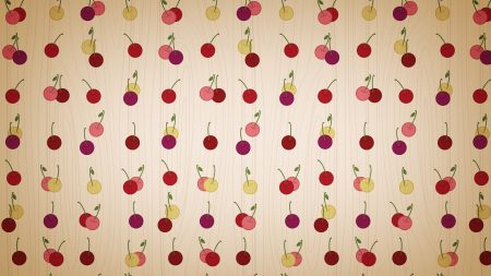 cherry, background, pattern
