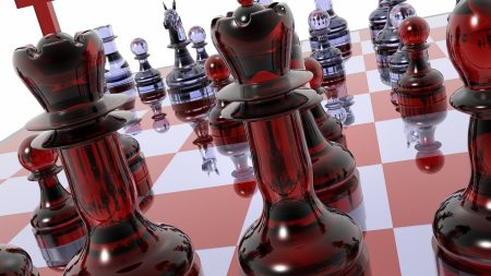 chess, board, pieces